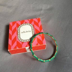 stella&dot / Bamboo Enamel Bangle